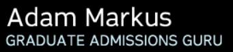 Blog « Adam Markus - Graduate Admissions Guru